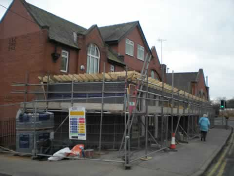 Commercial extension, Greater Manchester. Paul Donouhue Building Services