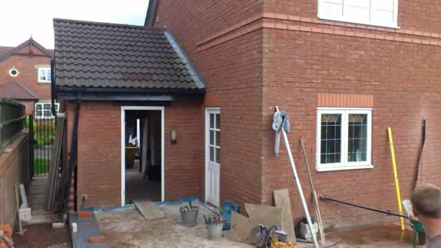Lounge, bedroom and bathroom extension, Boothstown, Greater Manchester. Paul Donouhue Building Services